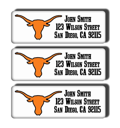 University of Texas Labels