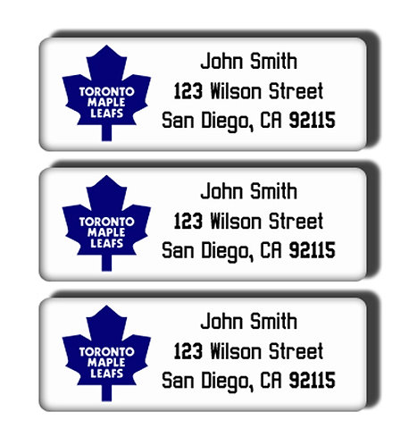 Toronto Maple Leafs Labels