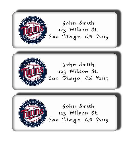 Minnesota Twins Labels