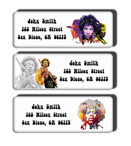 Jimi Hendrix Labels