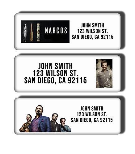 Narcos Labels