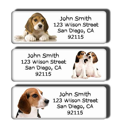 Beagle Labels