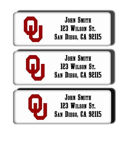 University of Oklahoma Labels