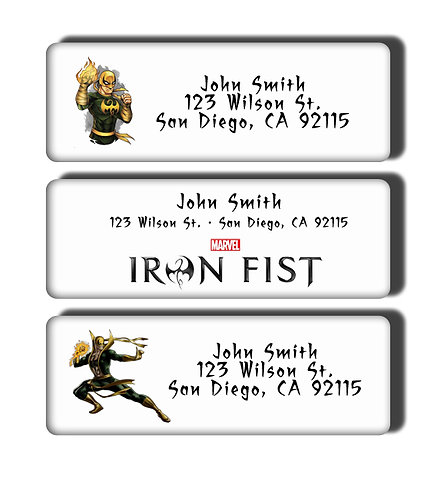 Ironfist Labels