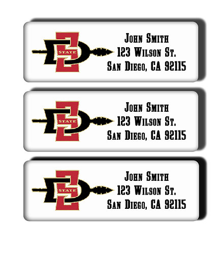 San Diego State University Labels