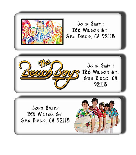 The Beach Boys Labels