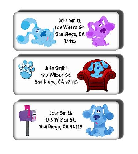 Blues Clues Labels