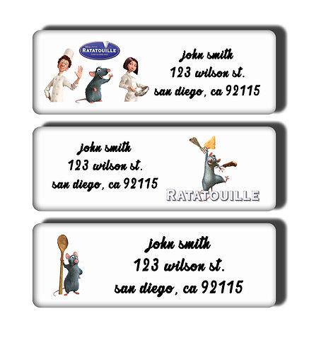 Ratatouille Labels
