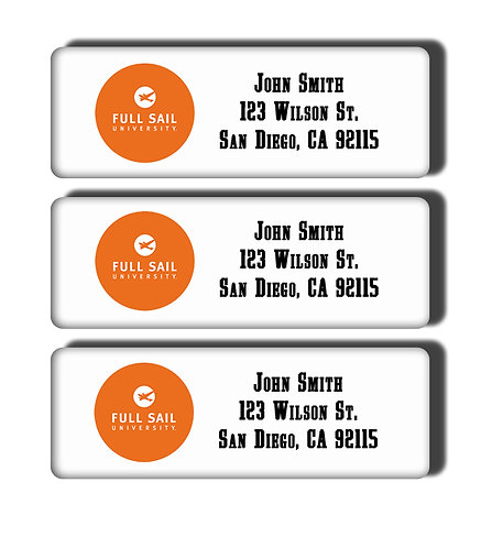 Full Sail University Labels