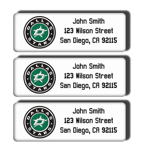 Dallas Stars Labels