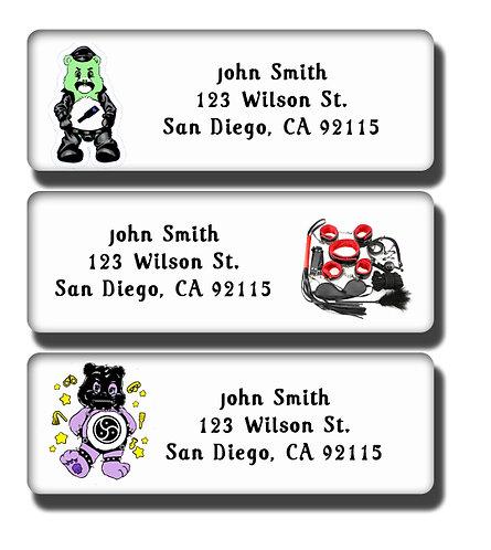 Care Bears BDSM Labels