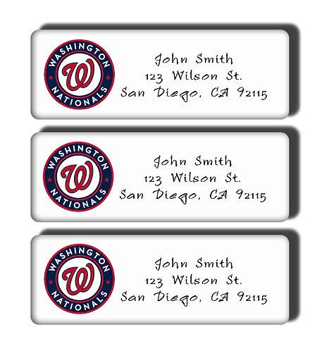 Washington Nationals Labels