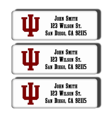 Indiana University Labels