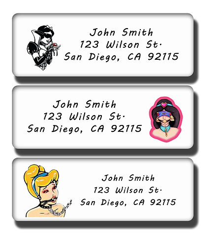 Disney Princess BDSM Labels