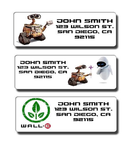 Wall-E Labels