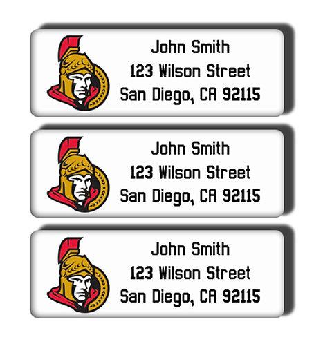 Ottawa Senators Labels