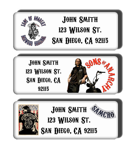 Sons of Anarchy Labels