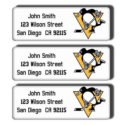 Pittsburgh Penguins Labels