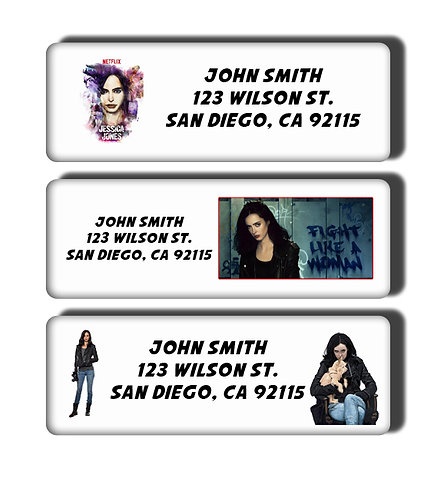 Jessica Jones Labels