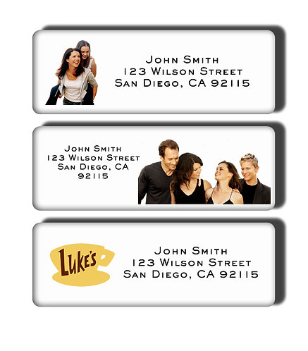 Gilmore Girls Labels