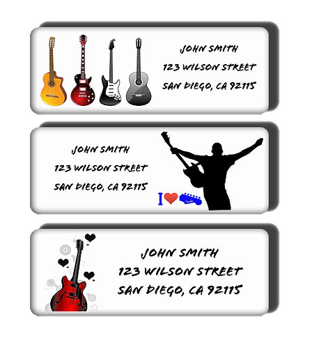 Guitar Player Labels