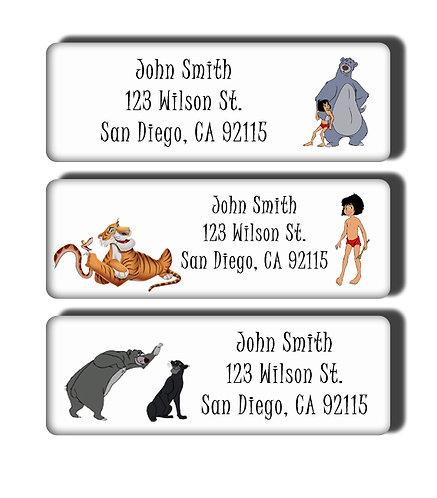Jungle Book Labels