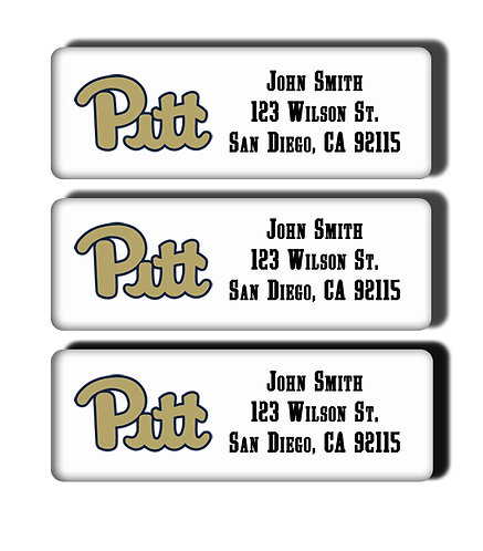 University of Pittsburgh Labels