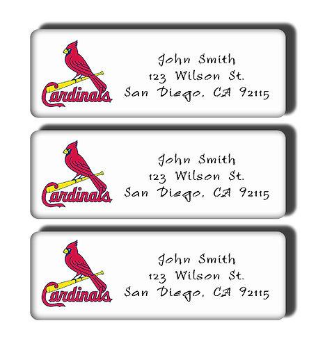 St. Louis Cardinals Labels
