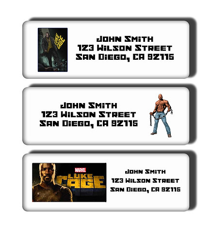 Luke Cage Labels