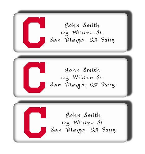 Cleveland Indians Labels