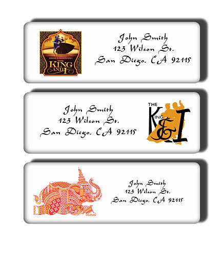 The King and I Labels