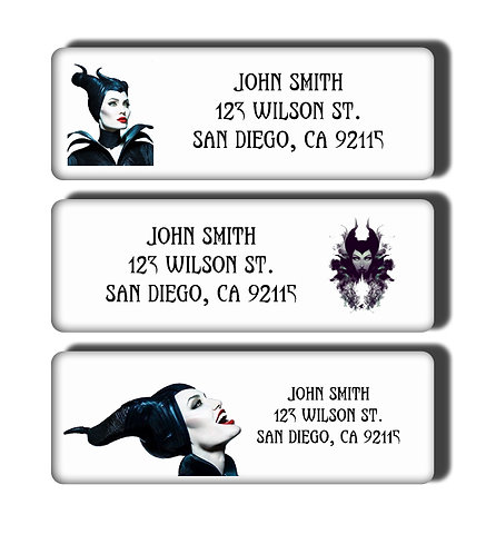 Maleficent Labels