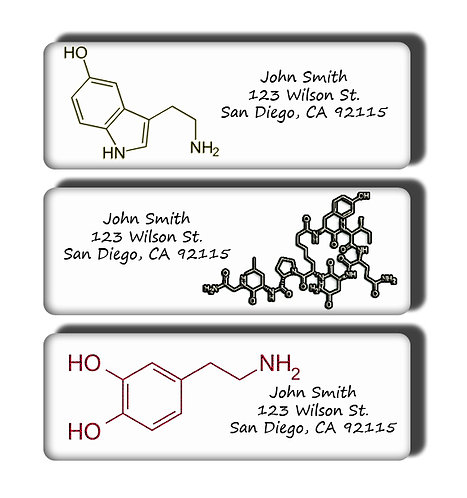Chemical Composition of Love Labels