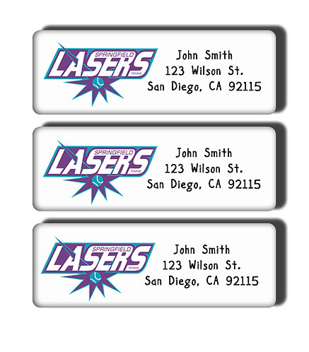 Springfield Lasers Labels