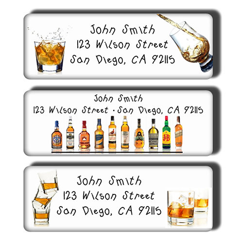 Scotch Lover's Labels