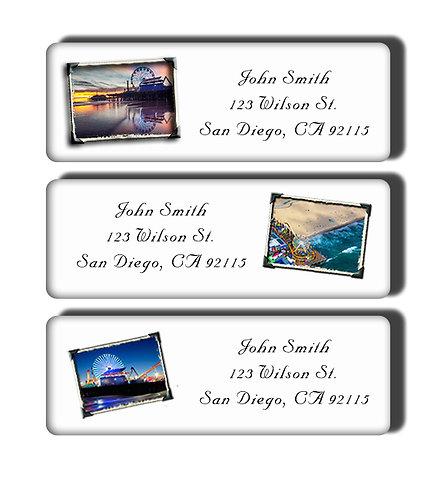 Santa Monica Pier Labels