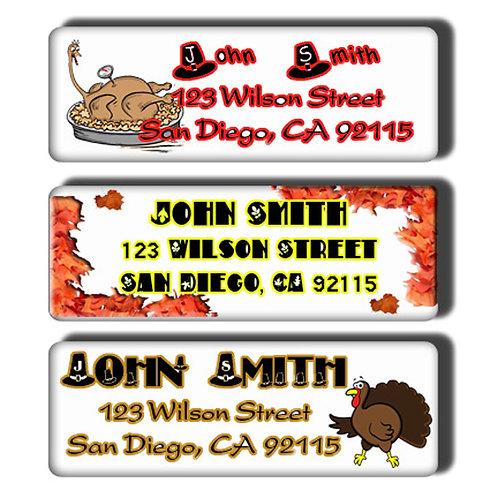 Thanksgiving Labels