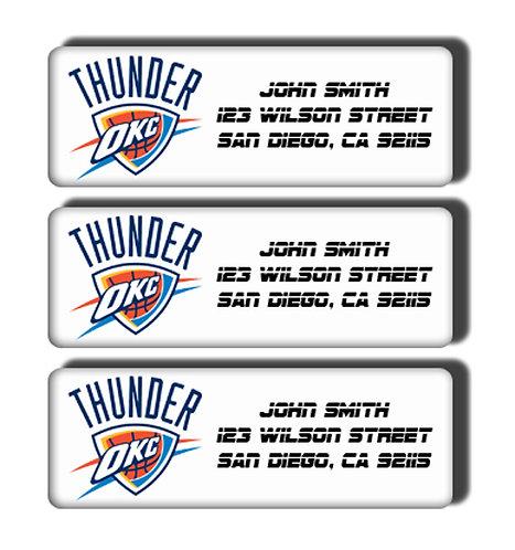 Oklahoma City Thunder Labels