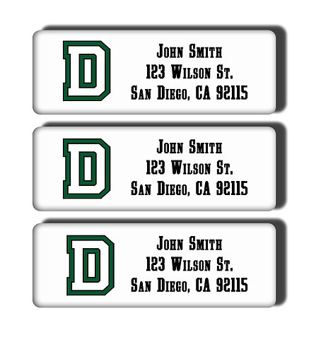 Dartmouth College Labels