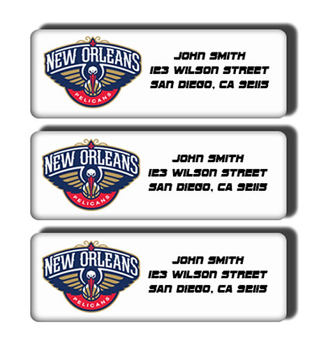 New Orleans Pelicans  Labels