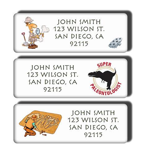 Paleontologist Labels