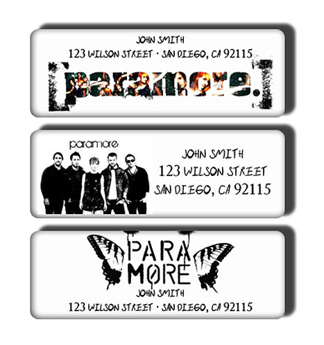 Paramore Labels