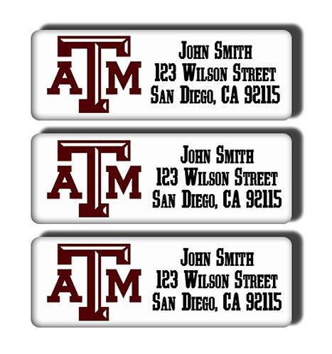 Texas A & M University Labels
