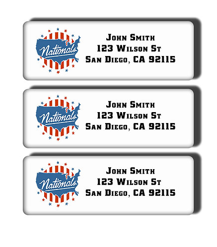 Syracuse Nationals Labels