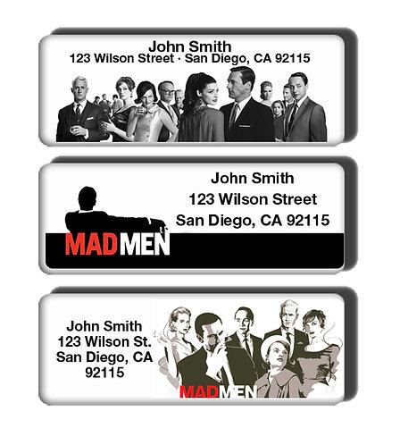 Mad Men Labels