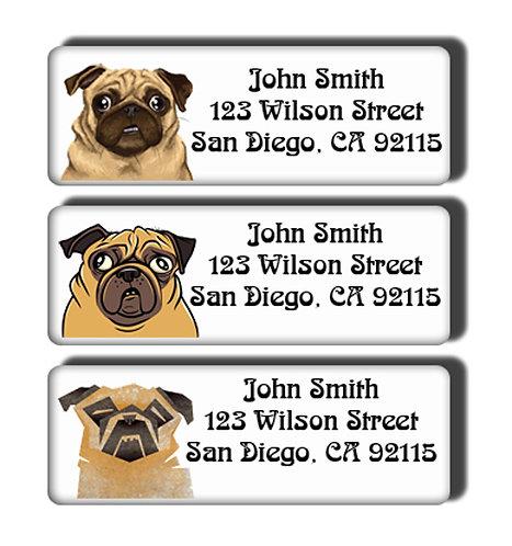 Pugs Labels