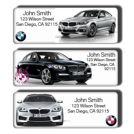 BMW Cars Labels