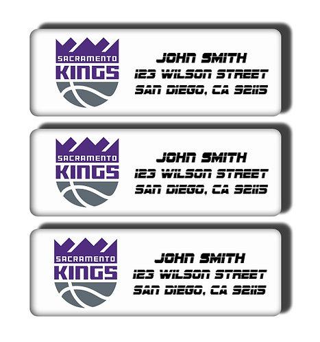 Sacramento Kings Labels
