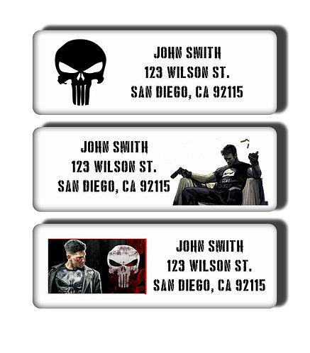 Punisher Labels