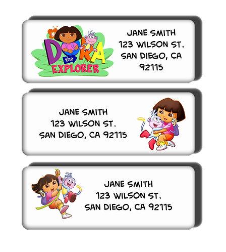 Dora the Explorer Labels